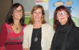 De gauche à droite : Maryse Rondeau, Irène Bonin et Raymonde Hébert