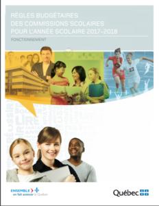Règles budgétaires CS 2017-2018